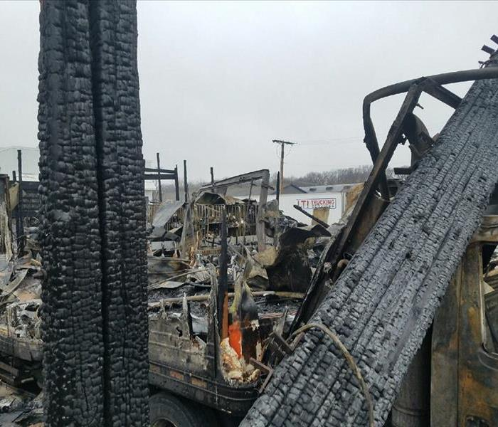 Commercial Commercial Fire Damage Restoration